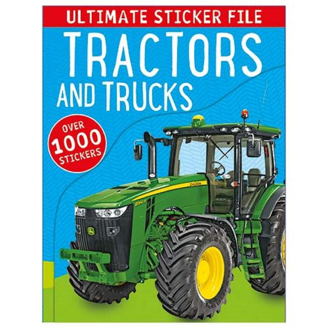 Ultimate Tractors & Trucks Sticker File Book