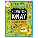 Scratch Away Activity Book Awesome Animals