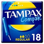 Tampax Compak Regular Tampons 18ct
