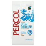 Percol Fairtrade Decaffeinated Colombia Ground Coffee