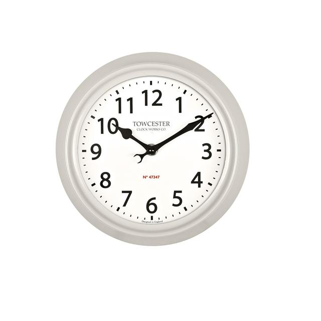 Acctim Shelton Indoor/Outdoor Clock in Stone from Ocado