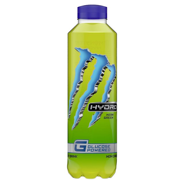 Monster Hydro Mean Green Energy Drink 550ml from Ocado