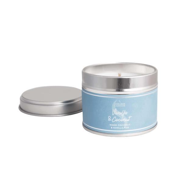 Shearer Candles 20 Hour Vanilla & Coconut Candle in a Tin