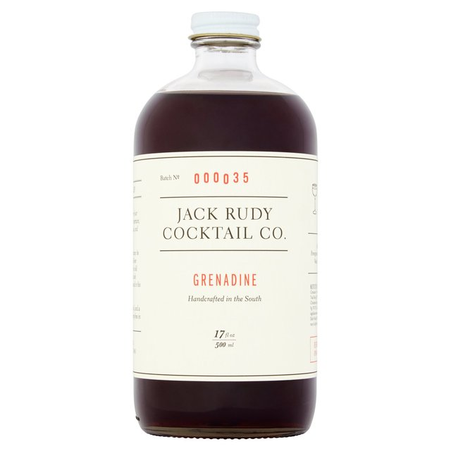 Jack Rudy Cocktail Co Small Batch Grenadine