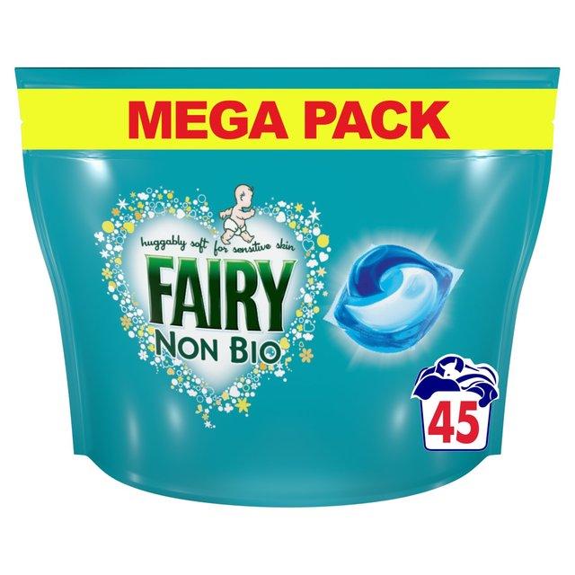 Fairy Non Bio Pods Washing Capsules Sensitive Skin 55 Per