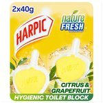 Harpic Active Fresh Twin Rim Block Citrus