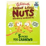Whitworths Bright Little Nuts Cashews Multipack