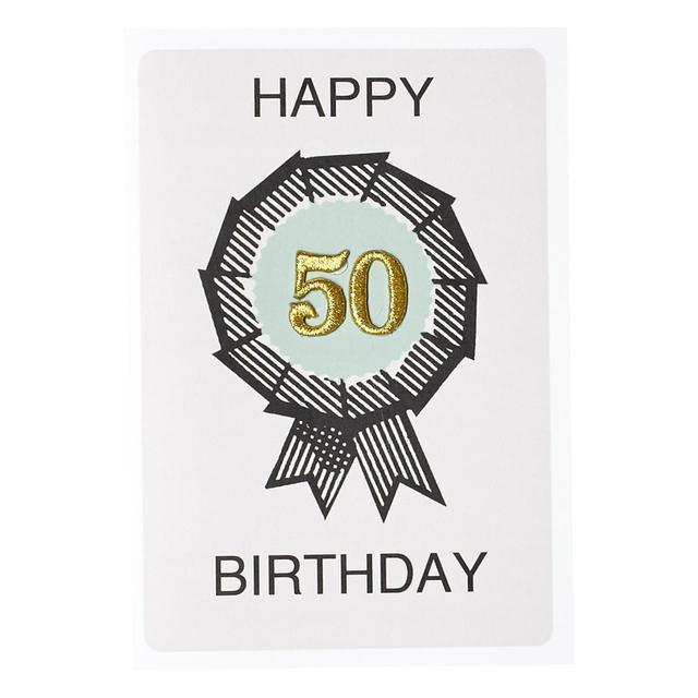 Petra Boase 50th Birthday Card From Ocado