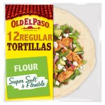 Old El Paso Super Soft Flour Tortillas Family Pack x12