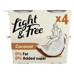 Light & Free Coconut Yogurts