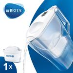 Brita Maxtra+ Aluna Cool White Water Filter Jug 2.4L