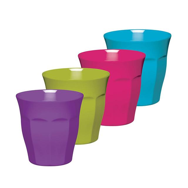 Colourworks Brights Melamine Tumblers, 225ml