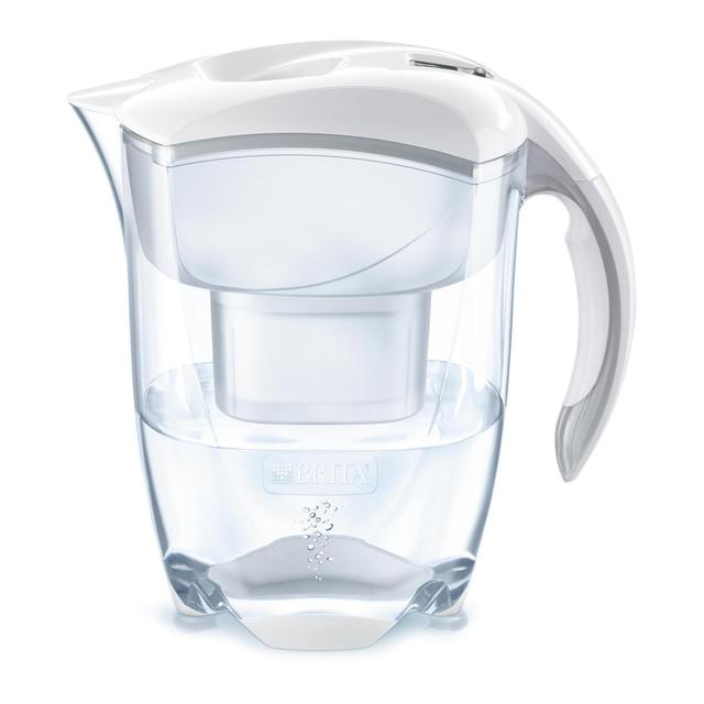 brita maxtra elemaris xl cool white water filter jug 3 5l. Black Bedroom Furniture Sets. Home Design Ideas