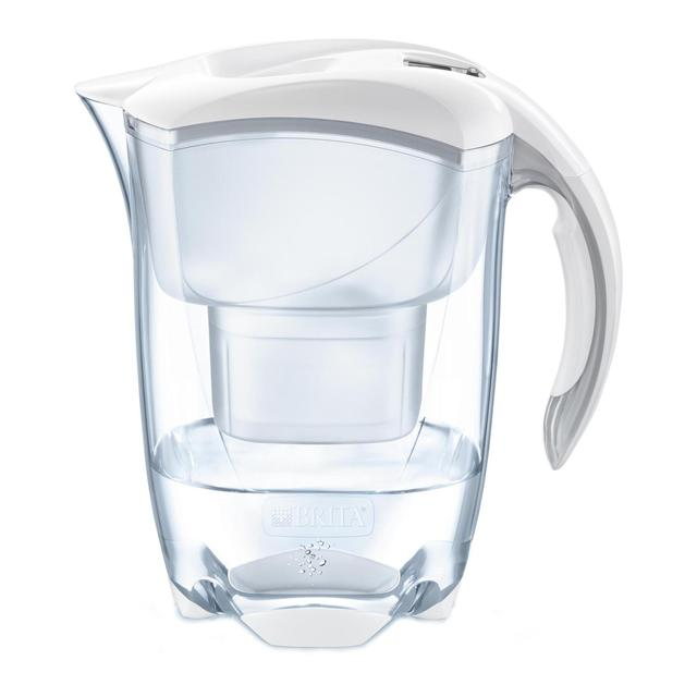 brita maxtra elemaris cool white water filter jug 2 4l. Black Bedroom Furniture Sets. Home Design Ideas