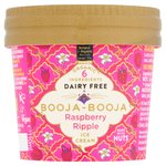 Booja-Booja Raspberry Ripple Dairy Free Ice Cream