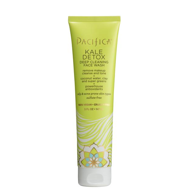 Pacifica Vegan Kale Detox Deep Cleaning Face Wash