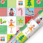 Patchwork Christmas Giftwrap