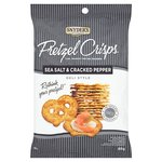 Snyder's Sea Salt & Cracked Pepper Pretzel Crisps
