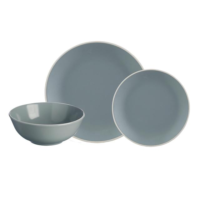 Mason Cash Classic Collection Grey Dinner Set