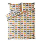 Orla Kiely, Scribble Stem Duvet Cover, Super king
