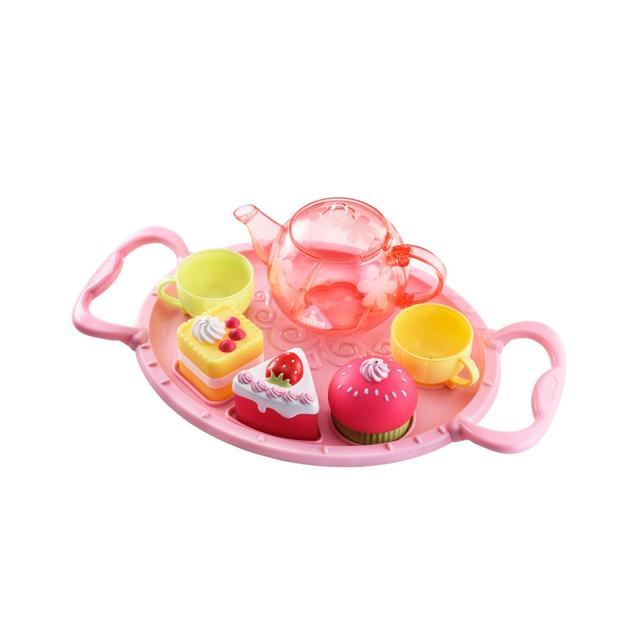 Elc Pink Bathtime Tea Party Set 1yrs From Ocado