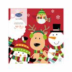 Santa Fun Christmas Paper Napkins