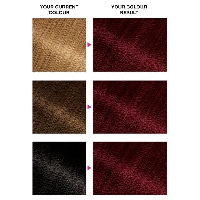 Garnier Olia 4 62 Dark Garnet Red Permanent Hair Dye