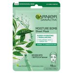 Garnier Moisture Bomb Tissue Mask Green Tea
