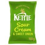 Kettle Chips Sour Cream & Onion