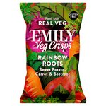 Emily Veg Crisps Crunchy Sweet Potato, Carrot & Beetroot