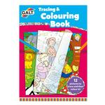 Galt Tracing & Colouring Book, 3yrs+