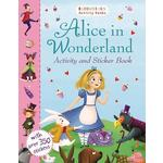 Alice In Wonderland Activity & Sticker Book