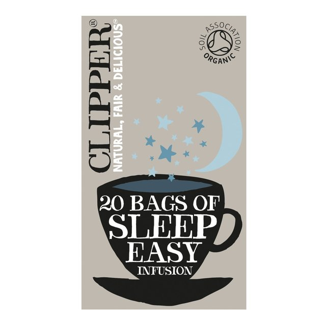 Clipper Organic Sleep Easy Infusion Tea Bags