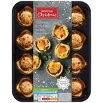 Waitrose 12 Cheese & Chutney Poppyseed Tarts