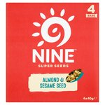 9nine Almond & Sesame Seed Bars Multipack