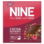 9nine Double Cocoa Raspberry Seed Bars Multipack