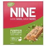 9nine Pumpkin & Sunflower Seed Bars Multipack