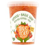Tideford Tomato & Basil Soup with Red Peppers & Miso