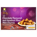 Ocado 12 Mini Chocolate & Hazelnut Flavoured Filled Churros