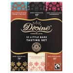 Divine Chocolate 12 Little Bars Tasting Set