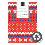 Christmas Jumper Recycled Giftwrap Sheets by 1973