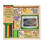 Melissa & Doug Safari Animal Stamp Set, 4yrs+