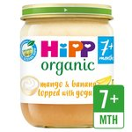 HiPP Organic Fruit Duet Mango & Banana with Yoghurt