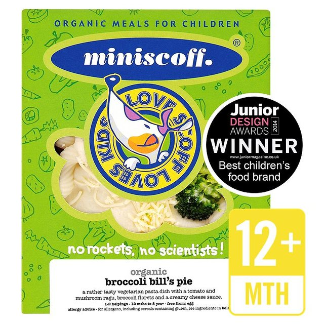 Miniscoff Organic Broccoli Bill's Pie Frozen