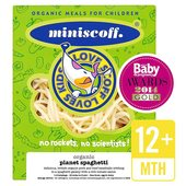 Miniscoff Organic Planet Spaghetti with Meatballs Frozen