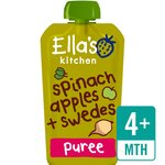Ella's Kitchen Organic Spinach, Apples & Swede Stage 1
