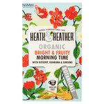 Heath & Heather Organic Morning Time Teabags