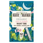 Heath & Heather Organic Night Time Teabags