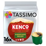 Tassimo Kenco Americano Decaff Coffee Pods