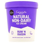 Coconuts Naturally Rum & Raisin Organic Dairy-Free Ice Cream